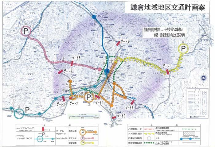 鎌倉地域の地区交通計画に関する提言